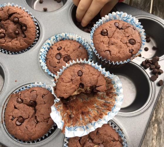 Muffinyčokoricotta